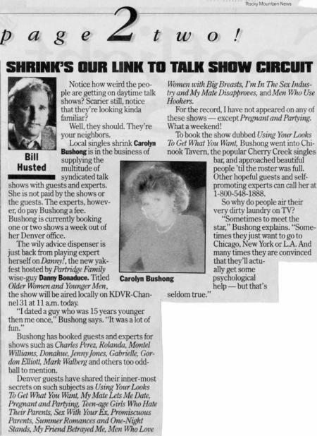 Rocky Mountain News – October 1995