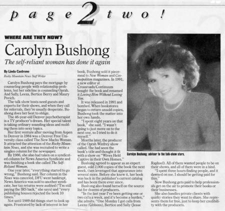 Rocky Mountain News – June 1994